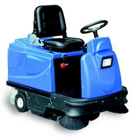 model-driving-type-sweeping-machine